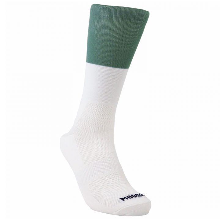 Calcetines bitone spruce mooquer calcetines de ciclismo diagonal