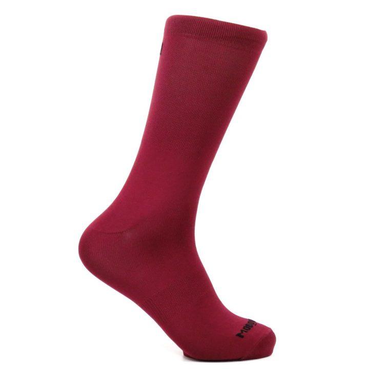 Calcetines de ciclismo classy garnet lateral