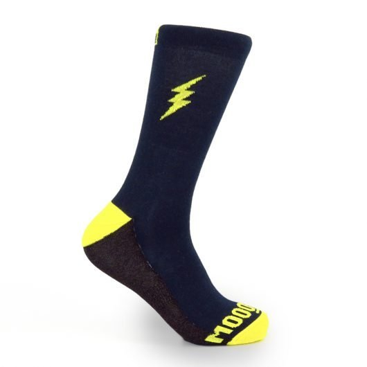 calcetines-de-ciclismo-termicos-calcetines-ciclistas-invierno-lightning-cooper-ropa-ciclista-mooquer-lateral