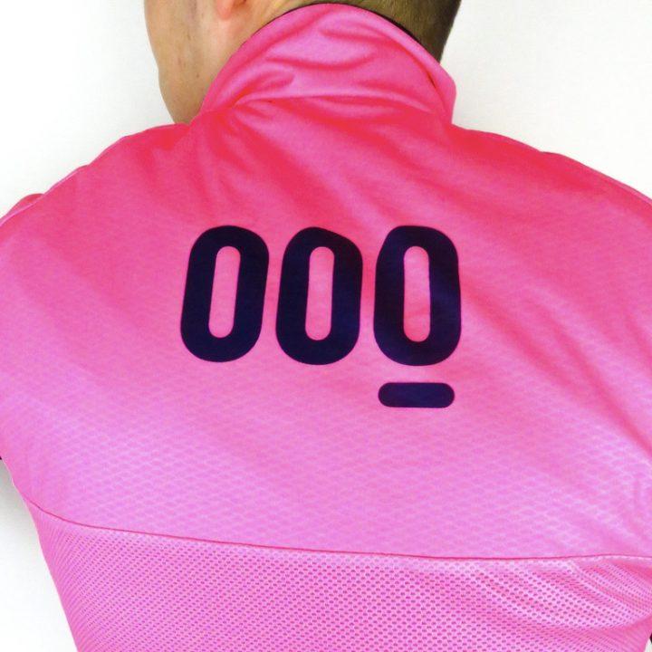 chaleco barcode rosa