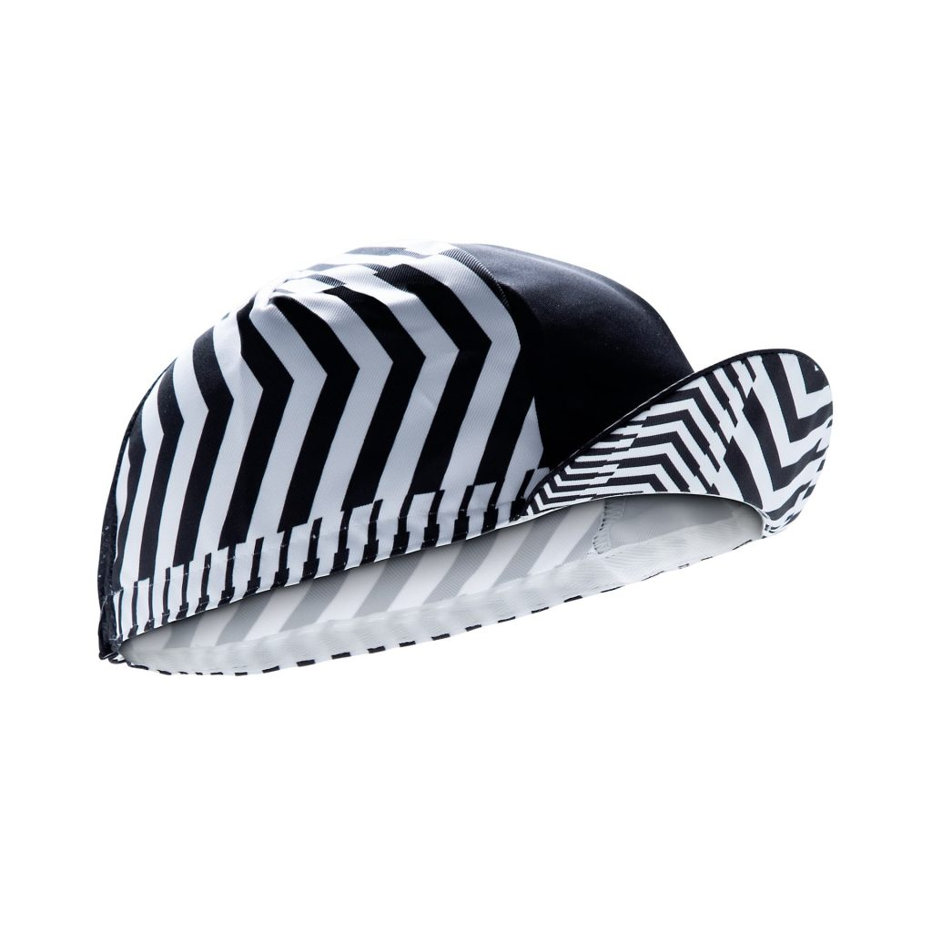Gorra de ciclismo Solitude Black Mooquer