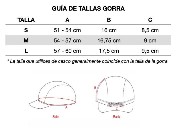 Guia-de-tallas-Mooquer-Gorras-de-Ciclismo-ropa-ciclista-julio-2021